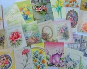 Flowers Galore in UNUSED All Occasion Lot No 141 Total of 21 Cards Birthday Anniversary Get Well Etc