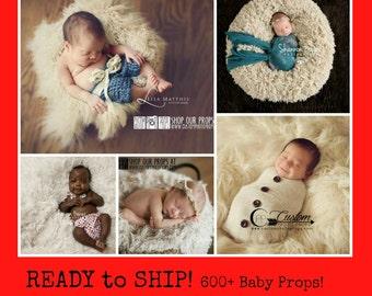 RTS Vegan Faux Flokati, 5 Neutral Colors, BaSKeT StuFfer Newborn Photography Props, Baby Props, Tan, Ivory, White, Newborn Prop, Baby Props
