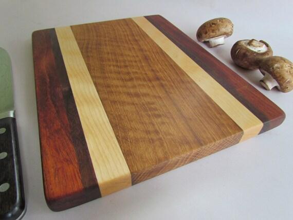 Beautiful Reclaimed Hardwoods Small Cutting Board Cherry
