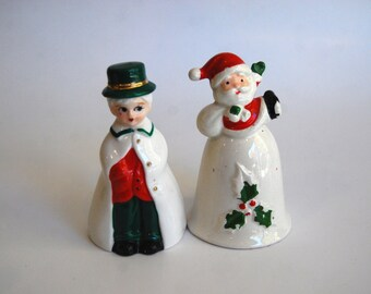 Vintage Pair of Christmas Bells