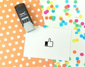 Self Inking Tiny Thumbs Up Teacher Stamp