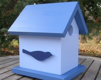 Birdhouse, Blues with Bird Silhouettes