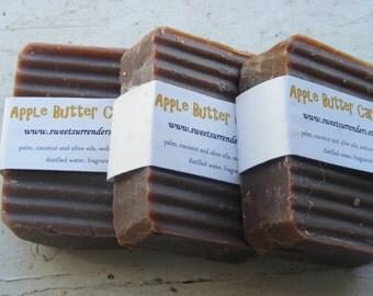 Apple Butter Caramel soap 3 bars