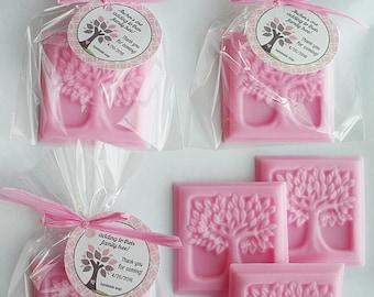 60 Family Tree  Favors Handmade Soap