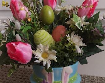 Easter Bunny Floral Arrangement