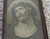 Picture of Jesus in The Crown of Thorns 4 x 6 inches