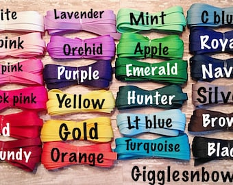 3/8 inch Solid Grosgrain Ribbon - Choose Color- DIY Hair Bow Supplies, Ribbon for Bows, Grosgrain Ribbon by the Roll, Hair Ribbon