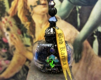 Bad Karma Potion dollhouse miniature in 1/12 scale