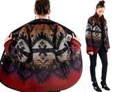 vintage SOUTHWESTERN woolrich BLANKET coat M