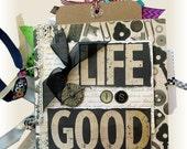 Life Mini Scrapbook, Pieces of  Life, Memory Album, Family Book, Friends Scrapbook, Picture Book,