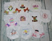 CLEARANCE Baby Bloomer Assorted Designs and Sizes Ready To Ship