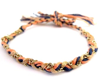 Formentera Braided Chain Bracelet