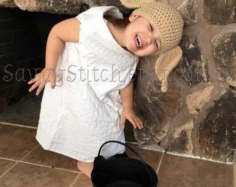 DOBBY HOUSE ELF Inspired Hat Crochet Harry Potter Winky Kreacher Hogwarts Costume Beanie Cap Earflaps Newborn Baby Child Adult Cosplay