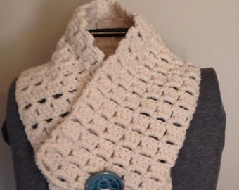 Time for Spring - Crocheted Cowl