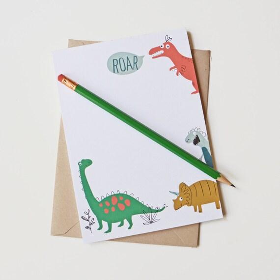 Seaurchinstudio Kids Stationery Dino Kids Writing Pen