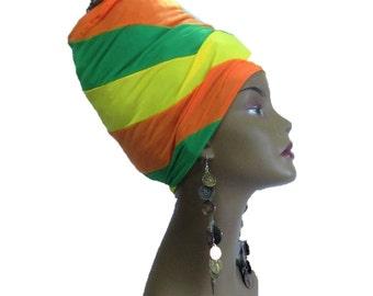 Springtime/ Locs  Hugger - Dread Locs Socks- Fashion Headband-Choose A  Length
