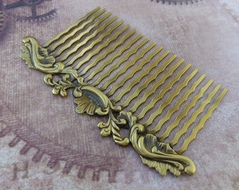 free shipping in UK - Decorative Hair Comb with Filigree Pack of 2