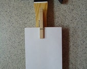Honey Do Hammer Noteholder with Notepad - Home Decor - Garage Decor - Man Cave - Wall Decor