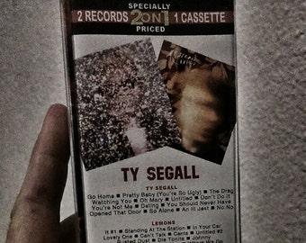 Ty Segall 2 on 1 Cassette Tape ( s/t and Lemons )