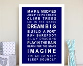 Custom Listing for Stacey - Make Mudpies Print