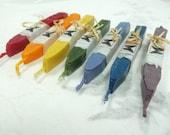 Natural Sealing Wax 7 sticks Chakra colors RAINBOW candles for Meditation