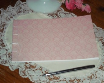 Guest Book - Pink Rose, Bridal Shower, Retirement, Birthday, Graduation