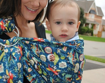 Take Me to Your Leader - Adjustable Baby Sling