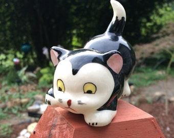 Grindleyware Grindley Black & White Cat Figurine Rare