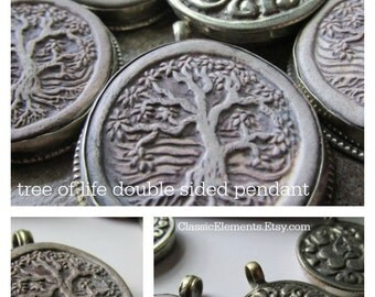Tree of Life Pendant, Clay Tree of Life, Tree Pendant, Tree of Life, Tree,
