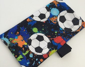 Soccer Reusable Snack Bag