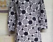 Vintage Clothing. Vintage 1960s Coat/Jacket. Black White Jacket.  Dorothy Tyoran studio. Ricky Reed Fashion Label. 1960s. London. Melbourne.