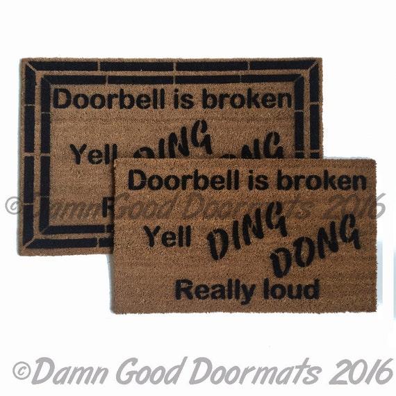 The Bullshit Stops Here  Rude, Funny Doormat Funny Rude Doormat Novelty