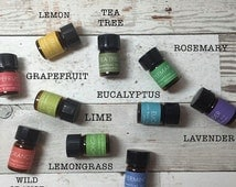 SALE Trending Essential Oils / ESSENTIAL OIL Kit - Travel - Pick 2 / For Acne / For Anxiety / For Sleep / For Headaches / For Allergies / Fo