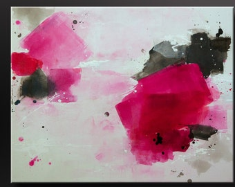 Intense - 24 x 30 - Abstract Acrylic Painting - Wall Art - Contemporary, Modern