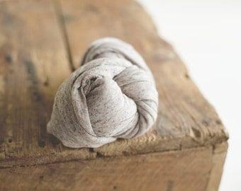 Newborn Stretch Knit Wrap - Newborn Knit Wrap - Feathered Maple - Stretch Wrap - Stretch Knit Wrap - Photo Prop