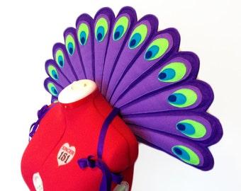 Peacock Wings. Durable.
