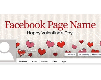 Valentine's Day Facebook Timeline Cover - PS3