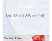 """Any A4  8.3""""X11.7"""" or 8x10 inch art Print"""