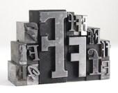Letter F Set - Vintage Metal Letterpress