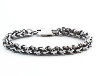 Tony Stainless Steel Chainmaille Bracelet