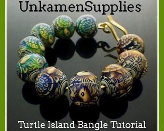 Turtle Island Bangle Tutorial