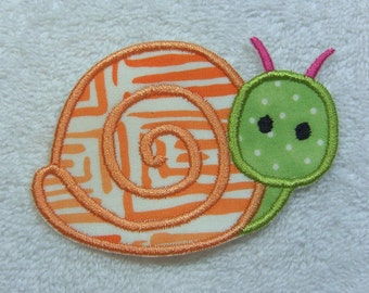 Snail Fabric Etsy