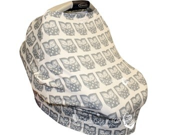 Owl Love- The Car Seat Cozy™ - Car Seat Cover, Nursing Cover, Shopping Cart Cover, etc!