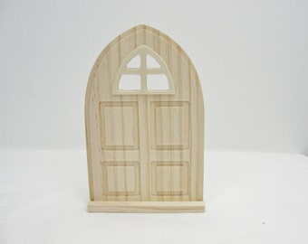 Wooden Fairy garden door