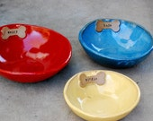 customized dog bowl, pet gift ,ceramic dog bowl, personalized Pet Feeding bowl, water bowl
