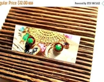 50% off Petite Post Earrings - Rhinestone Earrings - Bridesmaid Earrings