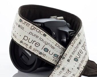 dSLR Camera strap, Pure, Canon, Nikon, Sony, SLR, Mirrorless camera, Wedding, Baby, Photography, Photographer, 215