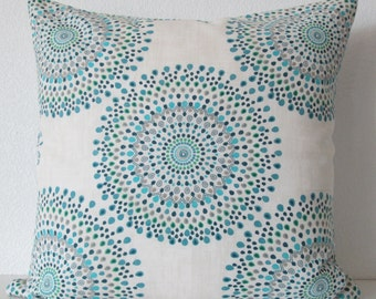 Magnolia Carousel Ocean, accent pillow cover
