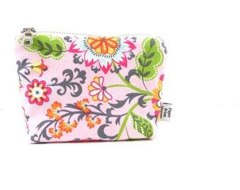 Ity-Bity Zipper Pouch - Caravan Dreams - mini change pouch essential oil bag coin purse Zip Wallet Money Wallet Change