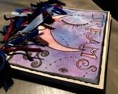 Fort Worth - Dream Journal - Art a la Carte studio class at Lightcatcher Winery 1.30.16